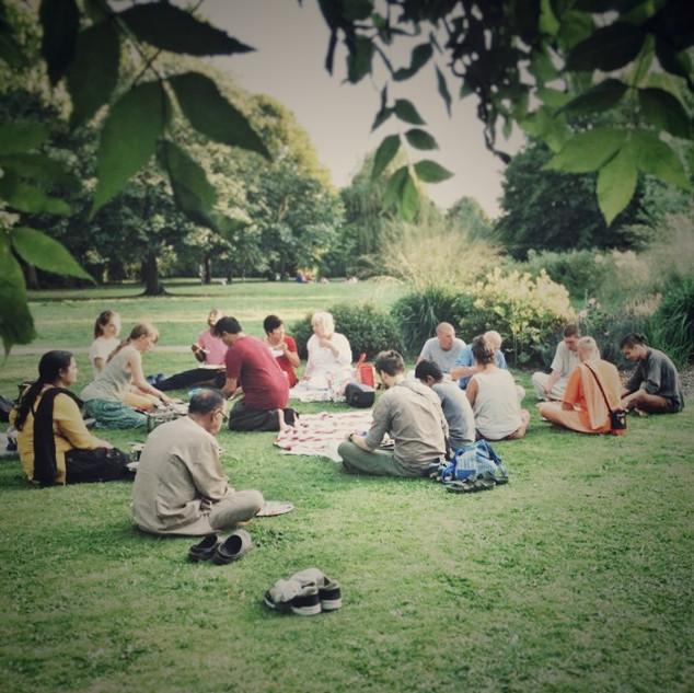 Spiritual Food in Westgate Gardens