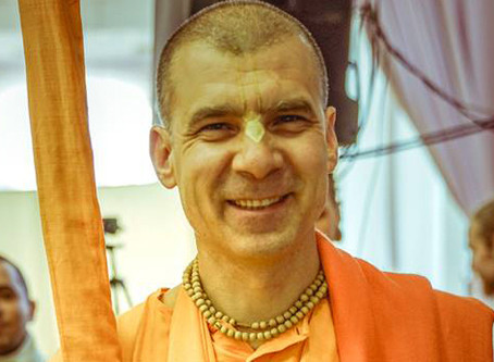 Live broadcast today with Bhakti Rasayana Sagar Swami!