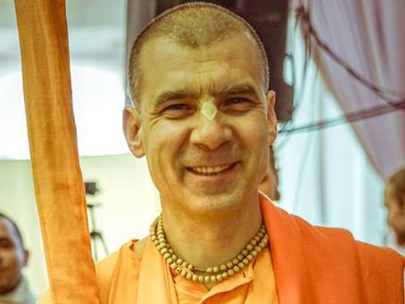 Live broadcast today with Bhakti Rasayana Sagar Swami!