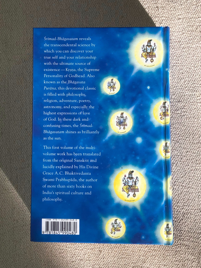 Srimad Bhagavatam - First Canto