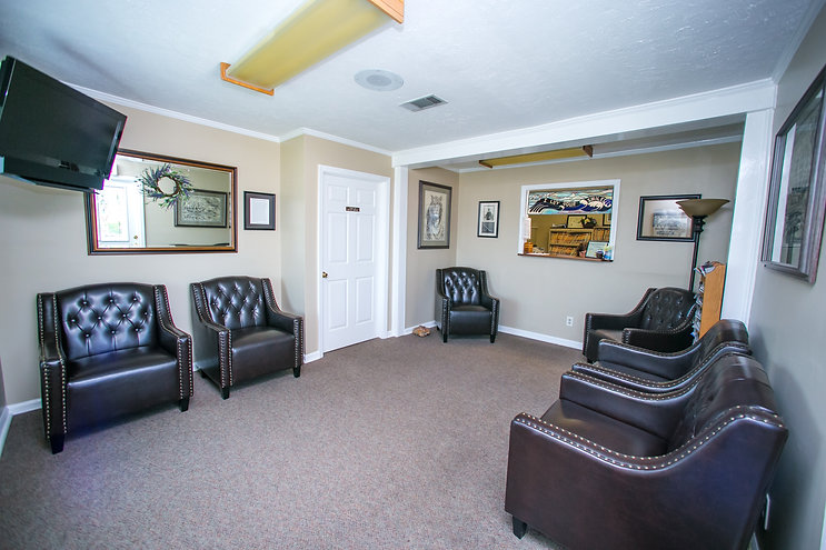 Patient Waiting Area at our Hendersonville Office