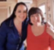 Avec Candice B., petite soeur Egyptienne!