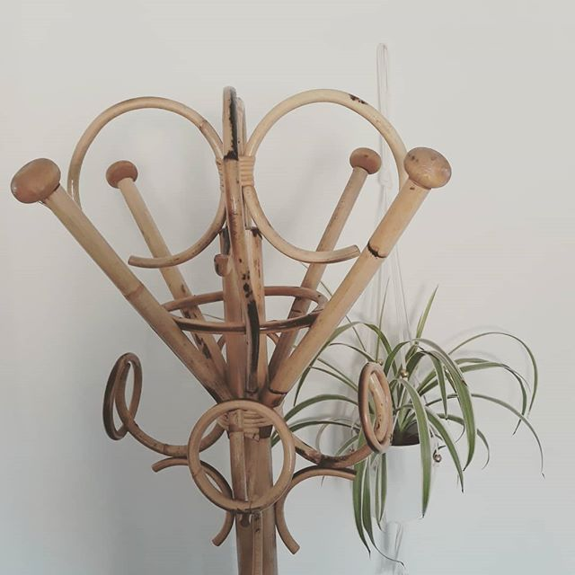 Beautiful bamboo vintage hat stand_£30_1
