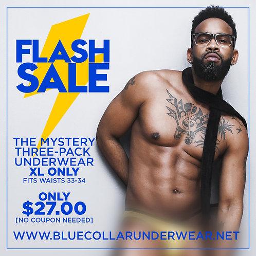 Mystery Three-Pack Underwear (XL)