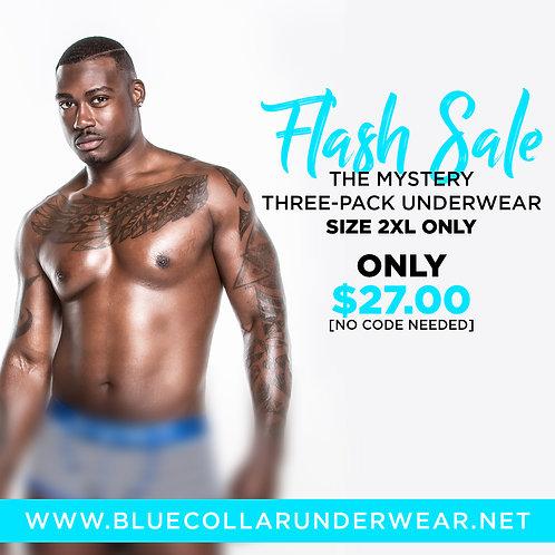 Mystery Three-Pack Underwear (2XL)
