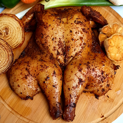 Smoked Whole Peri Chicken