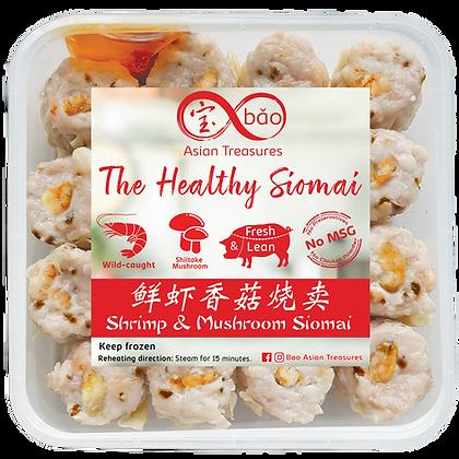 Shrimp & Mushroom Pork Siomai