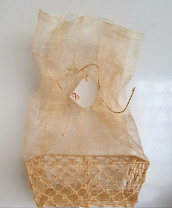 Abaca Wire Basket - Small