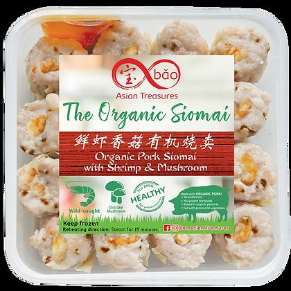 Organic Pork with Shrimp & Mushroom Siomai