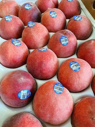 US White Peach 18s box