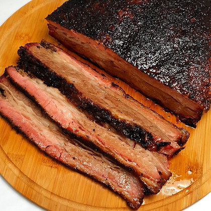 Smoked USDA Black Angus Beef Belly
