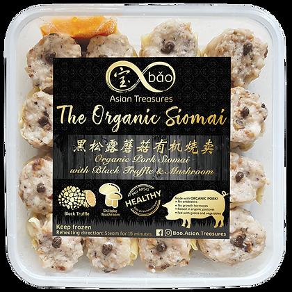 Organic Pork with Black Truffle & Mushroom Siomai