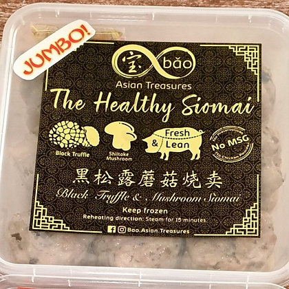 JUMBO Bao Black Truffle & Mushroom Pork Siomai