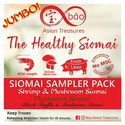 JUMBO Bao Siomai Sampler