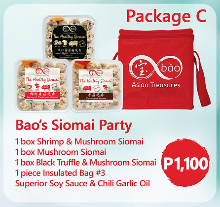 Package C: Bao's Siomai Party