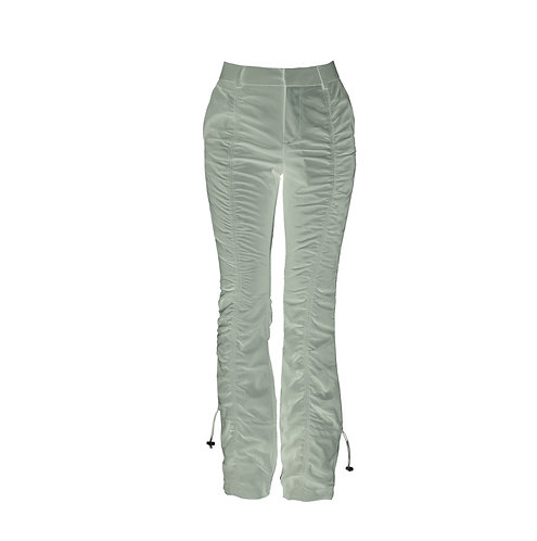 RUCHED  JADE PANTS