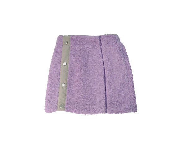 YUMMY SHERPA SKIRT