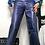 Thumbnail: GLOSSY NAVY PANTS