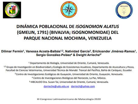 D. Fermín, V. Acosta-Balbás, N. García, E. Jiménez-Ramos, S. González-Peláez & D. Arrieche