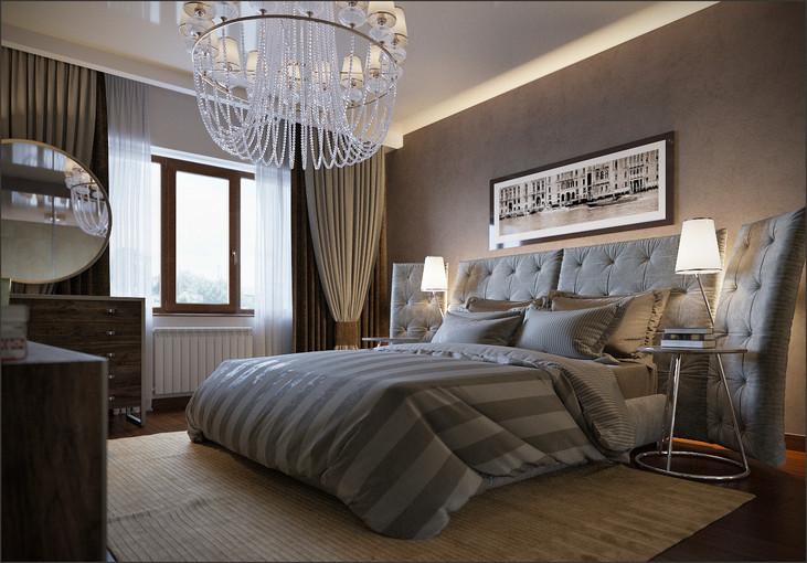 Interior design of a private house in Mariupol Ukraine