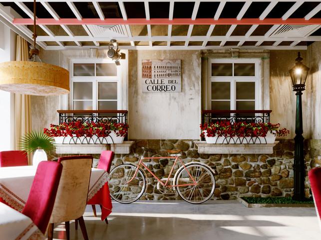 Interior design restaurant , Mariupol Ukraine