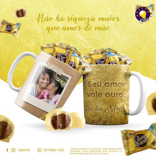 Kit Presente de Dia Das Mães: Seu Amor Vale Ouro