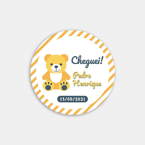 Adesivo Personalizado Cheguei