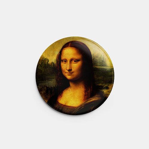 Botton Monalisa Leonardo Da Vinci