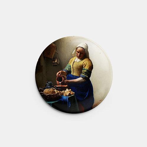 Botton A Leiteira Johannes Vermeer