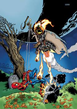 Spider-Man and Jack-o-Lantern