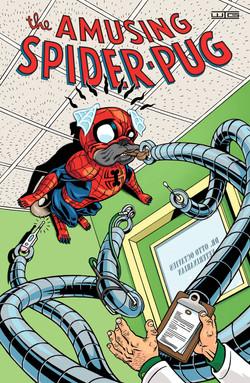 The Amusing Spider-Pug