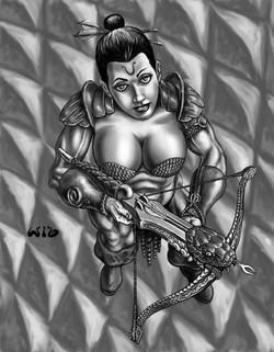 Past RPG- female archer