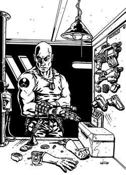RPG- Cyborg