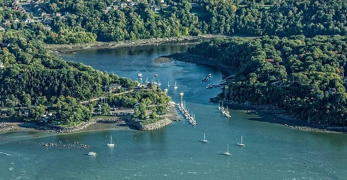 Marina de la Chaudière - Vue aérienne
