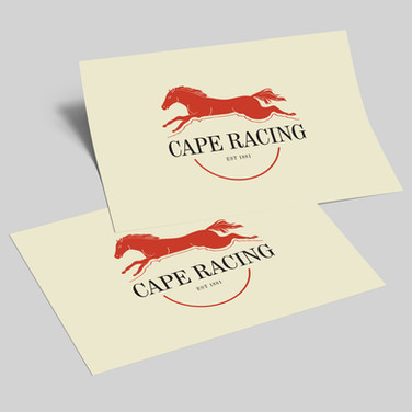 Cape Town Horse Racing Logo Design