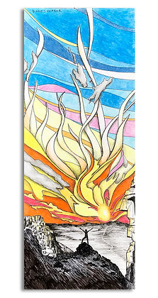 Fire Sunset ORIGINAL