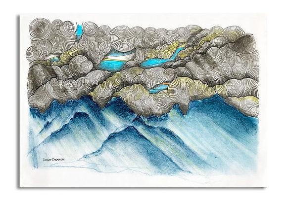 Drakensberg After The Storm ORIGINAL