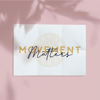 Movement Matters Yoga Logo Design