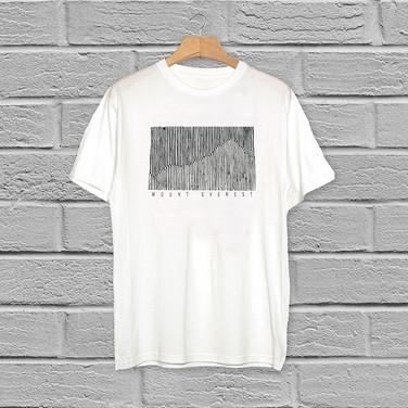 T-shirt Mountain Illustration