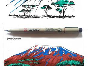 Pigma Brush Pen Review
