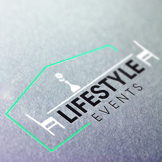 Lifestyle Events function tent and equipment logo design