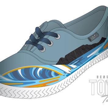 Tommy Tekkie Illustration