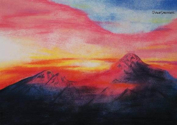 Pastel Mountain