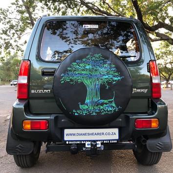 Suzuki Jimny Wheel Cover