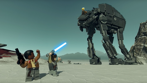 Lego Star Wars Interactive 360 Experience