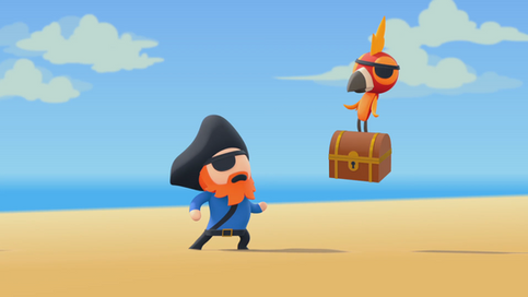 Doodle Pictures: Pirate
