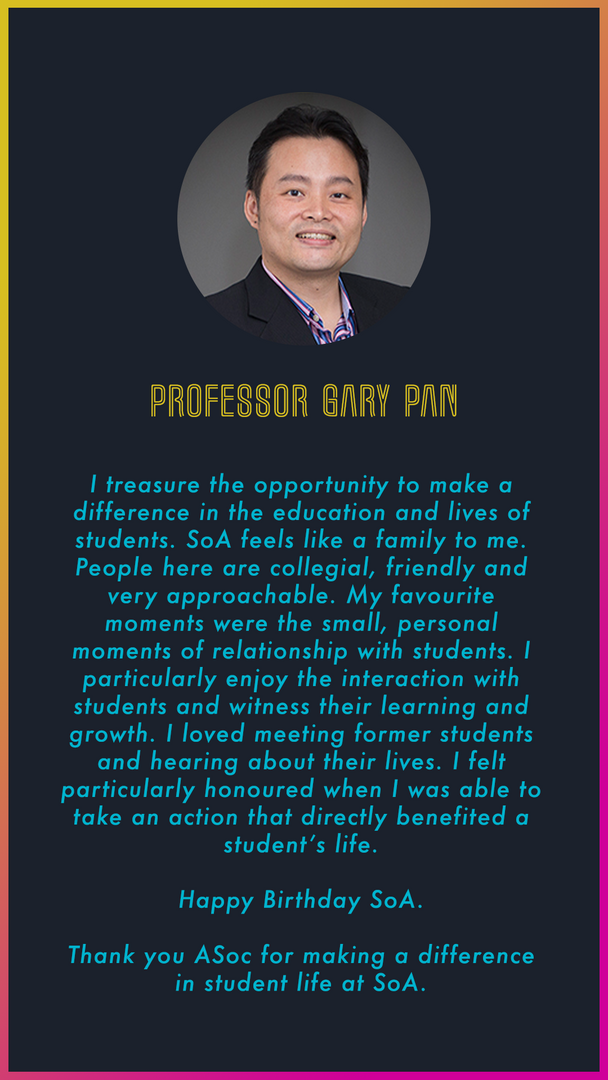 Professor Gary Pan