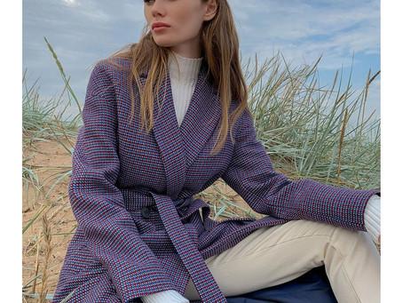 Эффектные пальто с принтом