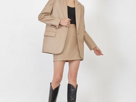 Одежда из эко-кожи на осень 2020