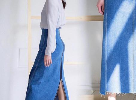 Выбираем джинсовую юбку. 3 варианта с паролями.